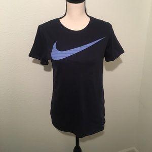 The Nike Check Logo Tee Athletic Cut